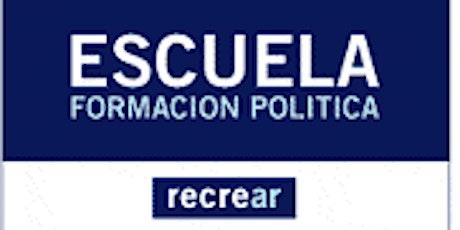 Ricardo López Murphy lo invita a la Escuela de Formación Política Recrear entradas