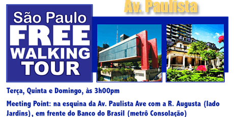 SP Free Walking Tour - AV. PAULISTA (Português) ingressos