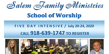 Salem Family Ministries School Of Worship Palm Desert, CA tickets
