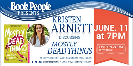 BookPeople Presents A Virtual Event with Kristen Arnett tickets