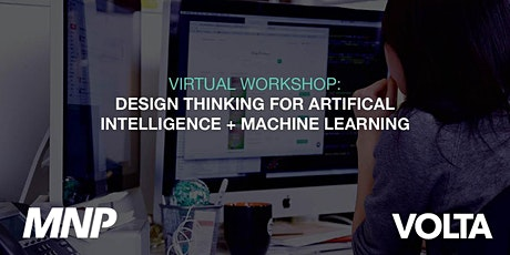 Design Thinking for Artificial Intelligence + Machine Learning tickets