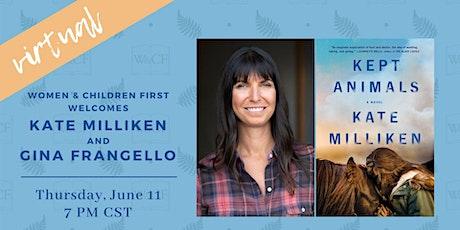 Virtual Author Conversation: Kate Milliken & Gina Frangello tickets