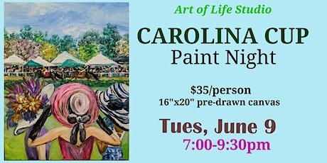 Paint Night: Carolina Cup tickets