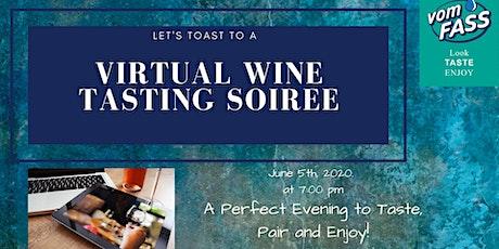 Virtual Wine Tasting Soiree tickets