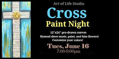 Paint Night: Cross tickets