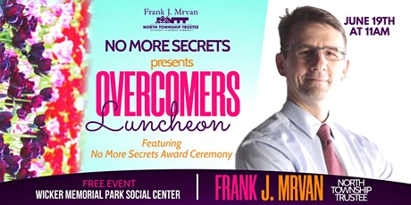NO MORE SECRETS: Over-Comers Award Luncheon tickets