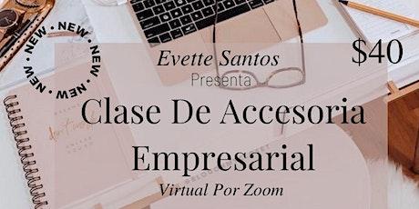 [CLASE EN ESPAÑOL] JUNIO Grupal De Accesoria Empresarial entradas