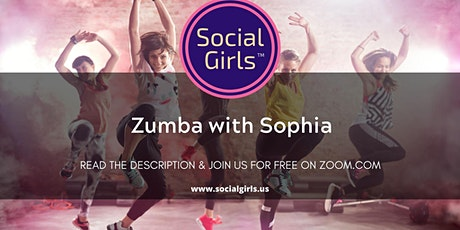 Free Virtual Zumba with Sophia tickets