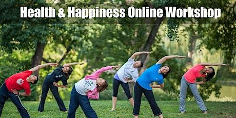 Health & Happiness Online Workshop tickets