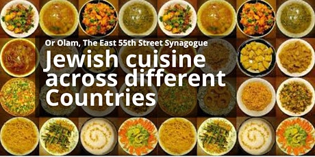 Jewish cuisine across different Countries tickets