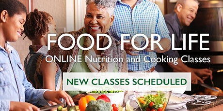 Food for Life Nutrition & Cooking Classes: Your Body in Balance tickets