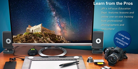 Online Photoshop and Lightroom Lessons tickets