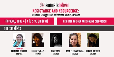 June 4 - Resistance and Resurgence tickets