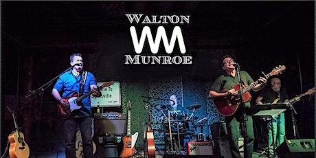 Walton-Munroe Band with Joe Mac and Half Of Nothing tickets