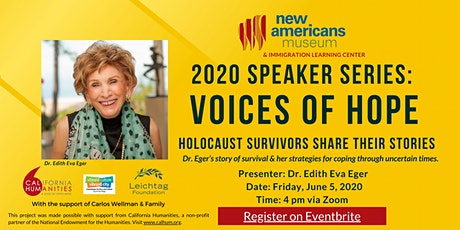 Voices of Hope: Holocaust Survivors Share Their Stories ft. Dr. Edith Eger tickets