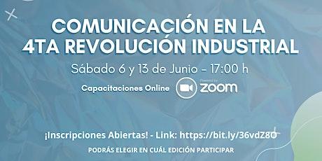 Comunicación en la 4ta Revolución Industrial entradas