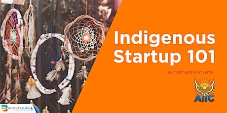 Indigenous Startup 101 Webinar tickets