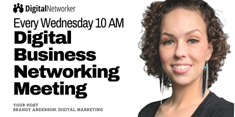 [Wednesday 10 AM] Online Business Networking Meeting Tickets