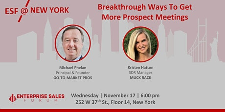 RESCHEDULED! Breakthrough Ways To Get More Prospect Meetings tickets