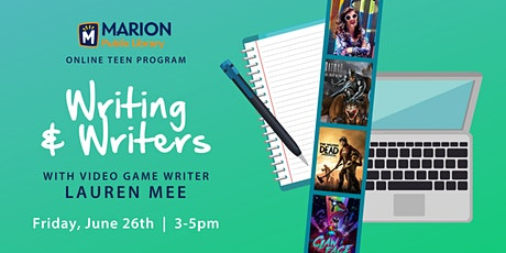 Teen Friday Writing & Writers: Lauren Mee tickets