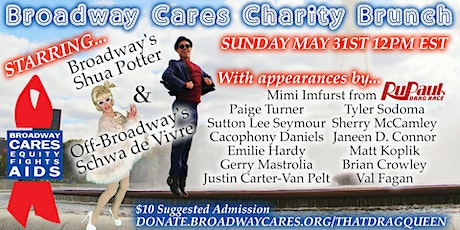 Broadway Cares Charity Brunch tickets
