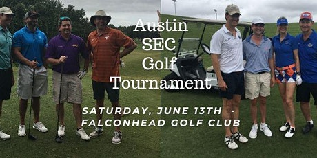 2020 Austin SEC Club Golf Tournament tickets