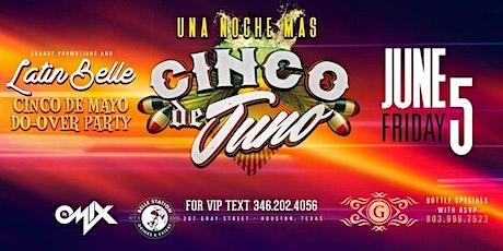 """Una Noche Mas presents """"Cinco De Juno"""" tickets"""