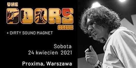 The Doors Alive - Proxima, Warszawa, PL tickets