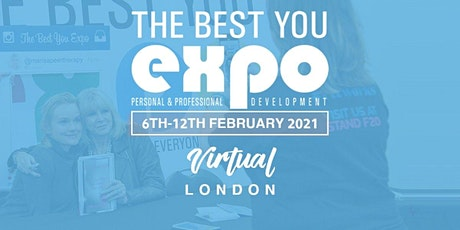 The Best You VIRTUAL EXPO London UK 2021 Speak & Exhibit tickets
