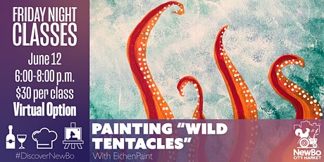 Friday Class: Wild Tentacles Painting tickets