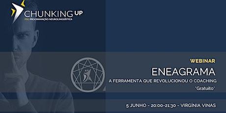 Webinar - O Eneagrama, a ferramenta que revolucionou o Coaching bilhetes