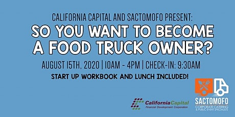 So You Want To Become A Food Truck Owner? All day online workshop tickets