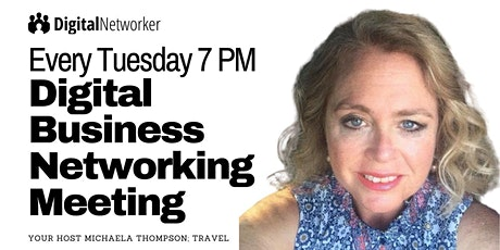 [Tuesday 7 PM] Online Business Networking Meeting tickets