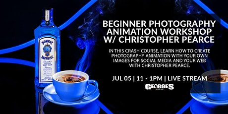 Beginner to Photography Animation with Christopher Pearce tickets