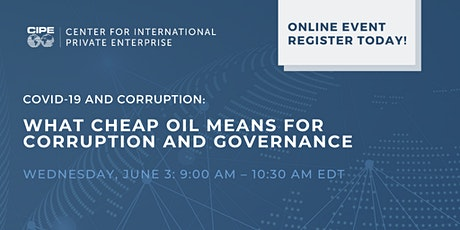 COVID-19 and Corruption: What Cheap Oil Means for Corruption and Governance tickets