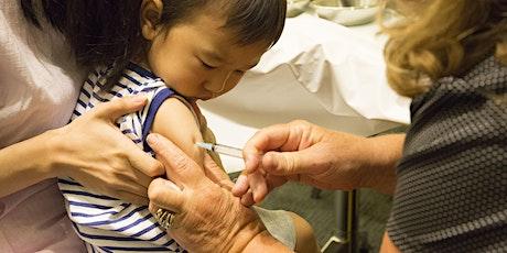 Immunisation Session - Monday 22 June 2020 tickets
