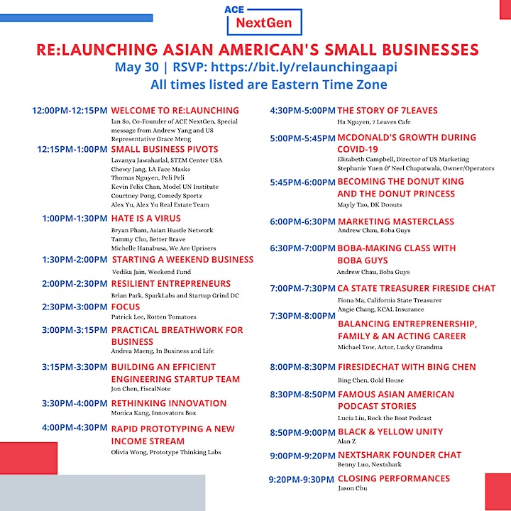 RE:Launching Asian America's Small Businesses image