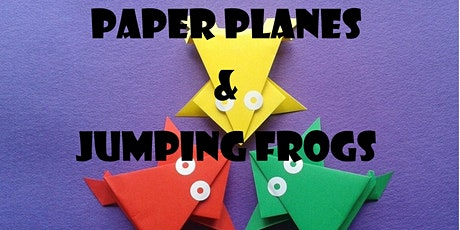 Paper Planes & Jumping Frogs tickets