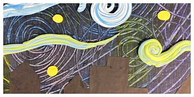 Parent & Child Create Night - Van Gogh Starry Night (5-12 Years) - IN-STUDIO CLASS