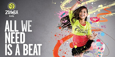 Thursday - Zumba KIDS JR Livestream with Melody - 30 min (Ages 4-7) tickets