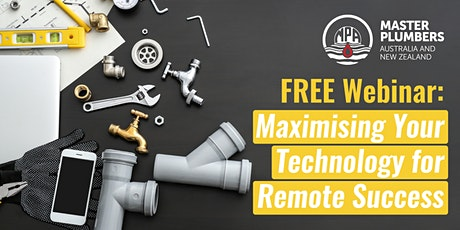 MPANZ Webinar: Maximise your Technology for Remote Success tickets