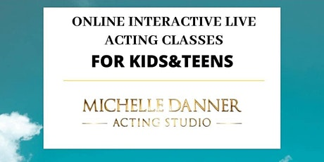 Online acting classes for Kids/Teens tickets