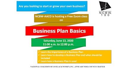 Business Planning Basics tickets