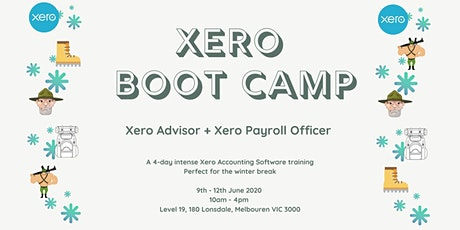 XERO BOOTCAMP : ADVISOR + PAYROLL OFFICER tickets