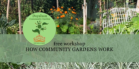 How Community Gardens Work Sunday Session tickets