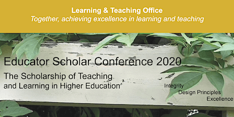 Educator Scholar Conference 2020 - Fremantle tickets