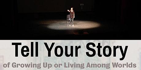 Tell Your Story!  6-week Solo Show & Memoir Workshop via Skype tickets