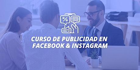 Curso de Publicidad Facebook ADS + Instagram entradas