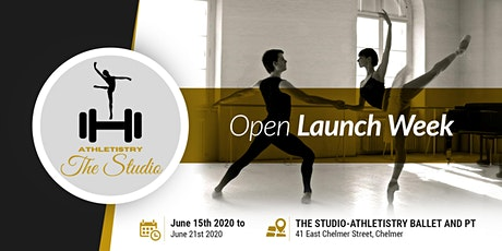 Official Launch of Athletistry Ballet and Fitness Studio tickets