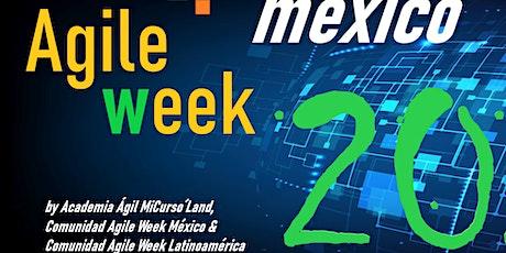 """Evento """"Agile Week México 2020"""". 6 días de conferencias """"on-line, gratuito boletos"""